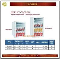 Pendingin / Pemajang Minuman / Display Cooler EXPO 50 / EXPO 90 Mesin Makanan dan Minuman Cepat Saji