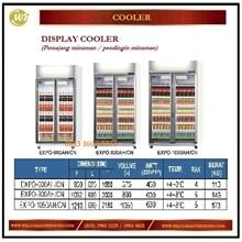 Lemari Pendingin / Pendingin Minuman / Display Cooler EXPO-600AH/CN  EXPO-800AH/CN  EXPO-1050AH/CN Mesin Makanan dan Minuman Cepat Saji