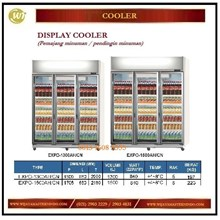 Lemari Pendingin Minuman / Display Cooler EXPO-1300AH/CN / EXPO-1500AH/CN Mesin Makanan dan Minuman Cepat Saji