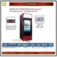 Lemari Pendingin Minuman / Display Cooler With LCD 45