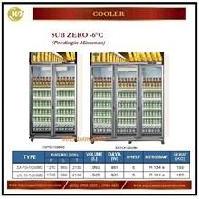 Lemari Pendingin Minuman / Sub Zero -6°C EXPO-1050BC / EXPO-1500BC  Mesin Makanan dan Minuman Cepat Saji