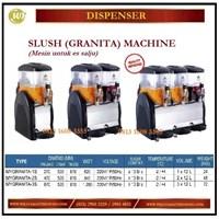 Mesin Pembuat Es Salju / Slush (GRANITA) Machine MYGRANITA-1S / MYGRANITA-2S / MYGRANITA-3S Mesin Makanan dan Minuman Cepat Saji