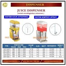 Mesin Pendingin Jus / Juice Dispenser LP-12x1 / LP-12x2 / LP-12x3 / LS-12x1 / LS-12x2