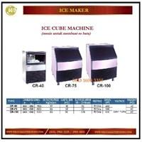 Mesin Pembuat Es Batu / Ice Cube Machine CR-40 / CR-75 / CR-100 Mesin Makanan dan Minuman Cepat Saji