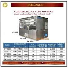 Mesin Pembuat Es Batu / Commercial Ice Cube Machine CV-2000 / CV-3000 / CV-5000 / CV-8000 / CV-10000 Mesin Makanan dan Minuman Cepat Saji