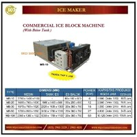 Mesin Es Balok / Commercial Ice Block Machine MB-1