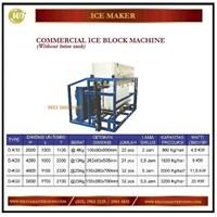 Mesin Es Balok / Commercial Ice Block Machine Without Brine Tank D-K10 / DK-20/ DK-30 / D-K50 Mesin Makanan dan Minuman Cepat Saji