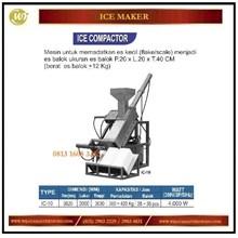 Mesin untuk memadatkan es / Ice Compactor IC-10 Mesin Makanan dan Minuman Cepat Saji