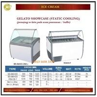 Pemajang Es Krim / Gelato Showcase (Static Cooling) SD-260ICS / SD-360ICS / FENICE-7 Mesin Makanan dan Minuman Cepat Saji