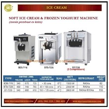 Mesin Pembuat Es Krim /Soft Ice Cream BDB-7116 / BTB-7226 / BT-7230 (2 compressors) Mesin Pembuat Es Krim