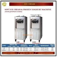 Jual Mesin Pembuat Es Krim / Soft Ice Cream D-880 (3 Compressors) / D-880A (3 Compressors) Mesin Pembuat Es Krim