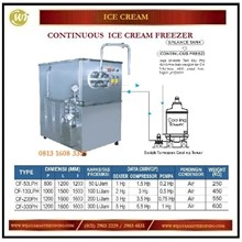 Mesin Pembuat Hard Ice Cream Terus Menerus / Continuous Ice Cream Freezer CF-50LPH / 100LPH/ 200PH / 300PH Mesin Pembuat Es Krim