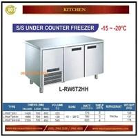 Lemari Pendingin / SS Under Counter Freezer L-RW6T2HH / L-RW6T3HHH / L-RW6T4HHHH Mesin Makanan dan Minuman Cepat Saji