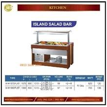Counter Top Salad / Island Salad Bar M-H1570FL4T / M-H1900FL5T Mesin Makanan dan Minuman Cepat Saji