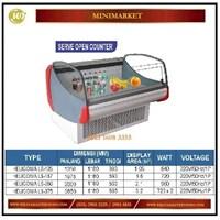 Pemajang Buah & Sayuran / Serve Open CounteR HELICONIA LS-125 / LS-187 / LS-250 / LS-375 Mesin Makanan dan Minuman Cepat Saji