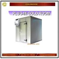 Jual Plug -In Cold Room / Ruangan Berpendingin atau  Pembeku Mesin di Dalam Mesin Sirkulasi dan Pendingin