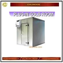 Plug -In Cold Room / Ruangan Berpendingin atau  Pembeku Mesin di Dalam Mesin Sirkulasi dan Pendingin