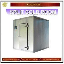 Split Cold Room / Ruangan Pendingin atau Pembeku Mesin diluar Mesin Sirkulasi dan Pendingin