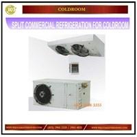 Jual Split Commercial Refrigeration For Cold Room / Pendingin Ruangan Mesin Sirkulasi dan Pendingin