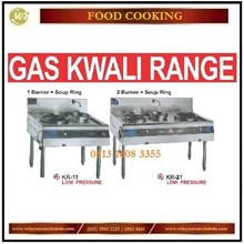 Gas Kwali Range / Kompor Komercial di Restoran KR-11 / KR-21 Mesin Penggorengan