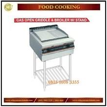Gas Open Griddle & Boiler W/ Stand / Mesin Penggorengan RPD-4B / RPD-4 / RSD-3 Mesin Penggorengan