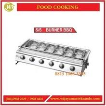 Pemanggang Sate Daging / SS Burner BBQ BS214 / BS216 / BS234V / BS236 Mesin Pemanggang