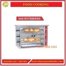 Mesin Pemanggang Daging Ayam / Gas Rotisseries HGJ-3P / HGJ-6P Mesin Pemanggang