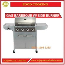 Mesin Panggangan Barberque / Gas Barberque With Side Burner  FH-12068-3 Mesin Pemanggang