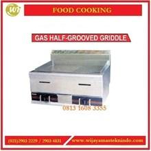 Mesin Pemanggang / Gas Half-Grooved Griddle  HGG-752 Mesin Pemanggang