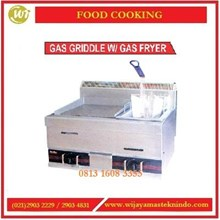 Mesin Pemanggang / Gas Griddle With Gas Fryer HGG-751 Mesin Pemanggang