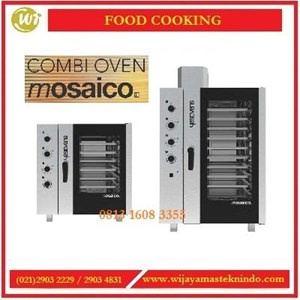 Mesin Pemanggang  Oven & Pengukus / Combi Oven Mosaico MOSAICO-7G / MOSAICO-11G / MOSAICO-7E / MOSAICO-11E Mesin Penghangat Makanan