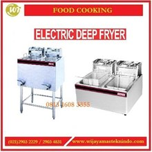 Mesin Penggorengan / Electric Deep Fryer 2 Tank 2 Basket EF-82 / EF-89 / EF-85 Mesin Penggorengan