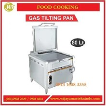 Alat Perebus & Penumis Makanan / Gas Tilting Pan TP3237 Mesin Penghangat Makanan