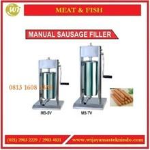Mesin Pencetak Adonan Sosis / Manual Sausage Filler MS-5V / MS-7V Mesin Penepung