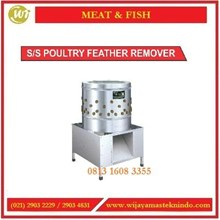 Mesin Pencabut Bulu Unggas / SS Poultry Feather Remover SX60-750W Mesin Pencabut Bulu Unggas