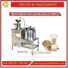 Mesin Pembuat Susu Kacang Kedelai Otomatis ET-YL9 Mesin Pengolah Kacang dan Biji