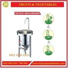 Mesin Pencuci Beras / SS Rice atau Bean Washer RW-25 / RW-50 Mesin Pengaduk