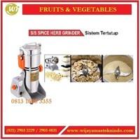 Jual Mesin Penggiling Ramuan Obat Herbal / SS Spice Herb Grinder IC-04A / IC-06B / IC-10B Mesin Penggiling Bumbu