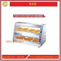 Jual Fast Food Display Warmer  HW-2P / HW-3P Mesin Penghangat Makanan