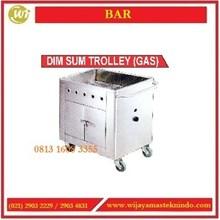 Trolley Dim Sum / Trolley Dim Sum (Gas) / F-0021 / EK-702 Mesin Penghangat Makanan