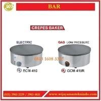 Dari Mesin Pembuat Crepes / Crepes Baker ECM-410 / GCM-410R Mesin Makanan dan Minuman Cepat Saji 0