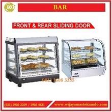 Mesin Penghangat Makanan / Front & Rear Sliding Door RTR-96L / RTR-136L / RTR-120L / RTR-160L Mesin Makanan dan Minuman Cepat Saji