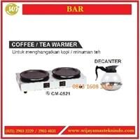 Jual Mesin Penghangat Kopi atau Teh / Coffee or Tea Warmer CM-0521 / DECANTER Mesin Penghangat Makanan