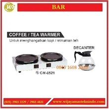 Mesin Penghangat Kopi atau Teh / Coffee or Tea Warmer CM-0521 / DECANTER Mesin Penghangat Makanan