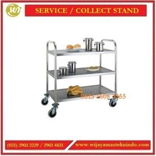 Troli Penyaji Makanan /  Service atau Collect Stand RST-2 / RST-3 / RCT-2 Food Trolley