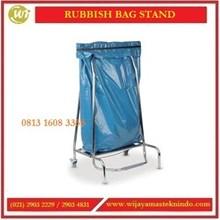 Tempat Sampah Kantongan yang bisa didorong / Rubbish Bag Stand RBR-001 Linen Trolley