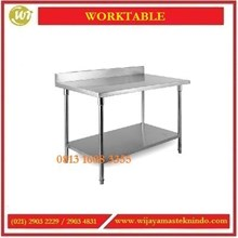 Meja Kerja Dapur / Worktable RWT-10 / RWT-12 / RWT-15 / RWT-18 / RWT-20 / RWT-10E / RWT-12E / RWT-15E / RWT-18E / RWT-20E Working Table