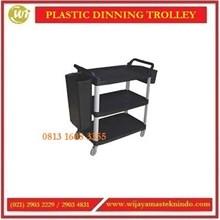 Troli Pengumpul Piring-Piring Bekas / Plastic Dining Trolley PDT-3S / PDT-3L Commercial Kitchen
