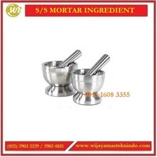 Tempat Ulekan / SS Mortar Ingredient MI-120 / MI-100 Commercial Kitchen