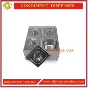Tempat Penampung Bahan-bahan Makanan / Condiment Dispenser CMD-3 /CMD-4 / CMD-6 / CMD-22 / CMD-32